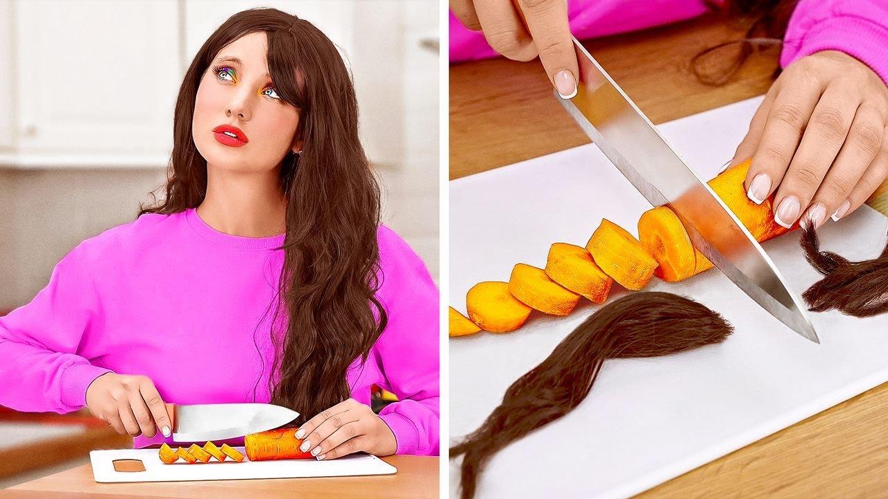 مشاكل الشعر الطويل مقابل القصير    مواقف يومية مضحكة