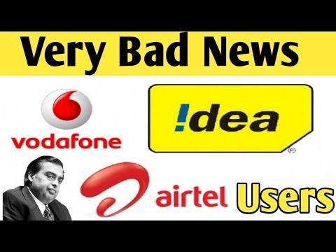 Latest Telecom news | Airtel Vodafone and Idea increases their plan | Very Bad News