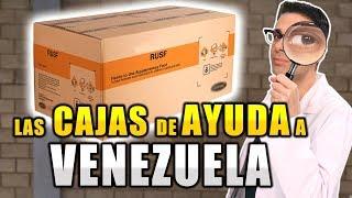 Qué Hay en las Cajas de Ayuda a Venezuela de Estados Unidos?