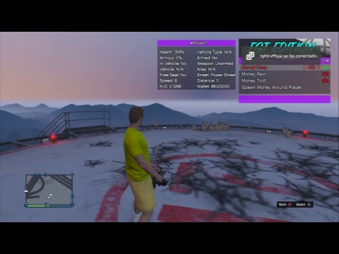GTA 5 FREE MONEY DROP/MODDED LOBBY! PS3 (LIVE)