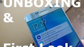 [Hindi] Samsung Galaxy Note 5 N920G (Silver, 32GB) Indian Unit Unboxing Review (Premium Phone)