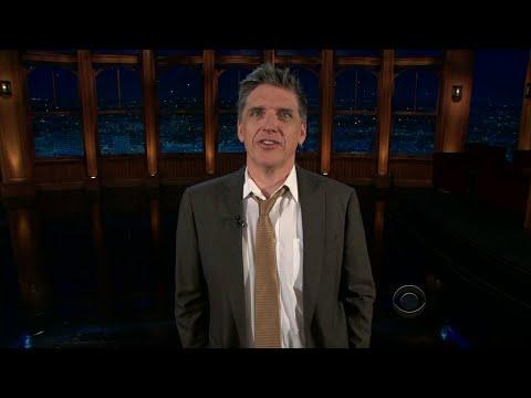 Late Late Show with Craig Ferguson 4/18/2011 Tina Fey, Joe Devito, Everest