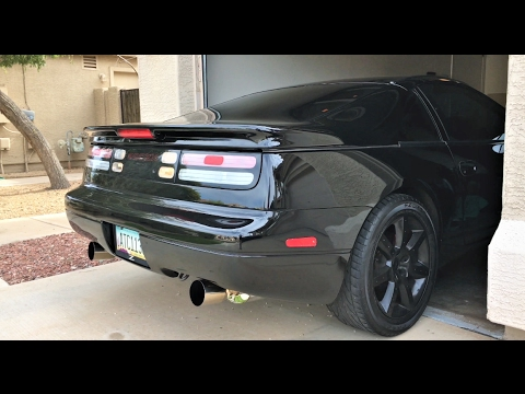 300zx Custom Catback Exhaust