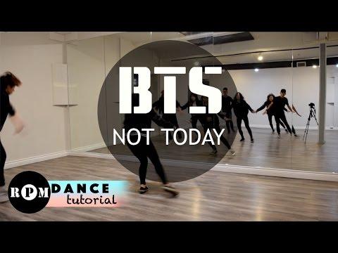 "BTS ""Not Today"" Dance Tutorial (Chorus, Ending)"