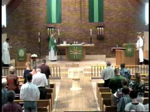 Divine Service Trinity Lutheran Church Denver CO 2012July1.mpg