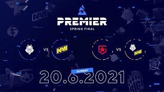NAVI vs G2, Gambit vs WINNER   BLAST Premier Spring Final Day 6