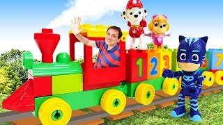 Video e giochi per bambini. Video con i treni Lego. Nuovi episodi in italiano