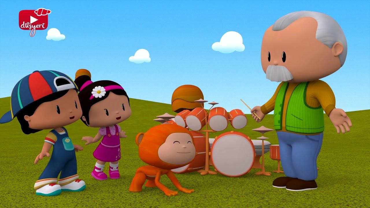 Pepee - Maymuş'un Müzik Oyunu - Pepe Çocuk Şarkıları & Eğitici Çizgi Film