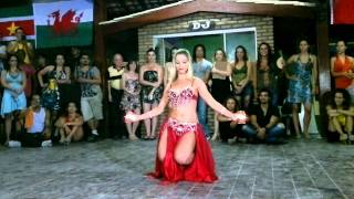 Catarina Dantas   Dança do Ventre   I Berg's Zouk Lambada Summer Festival