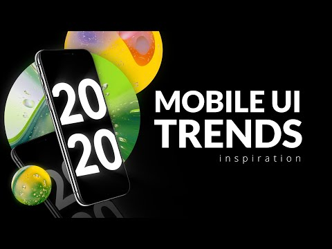 Mobile UI & UX Design Trends 2020 | TemplateMonster