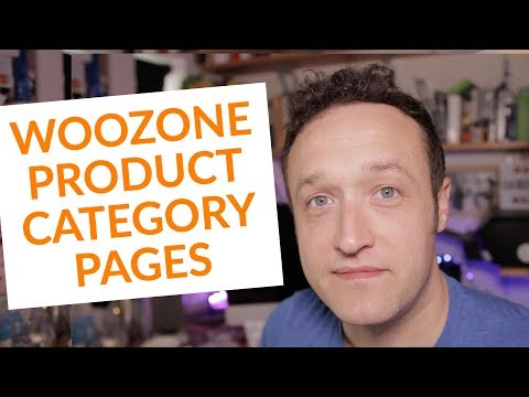 Create a page from Woozone or Woocommerce Categories thumbnail