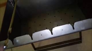 Мангал чемодан ТРИ ИКСА V, I, Y-образные вырезы для шампуров обзор