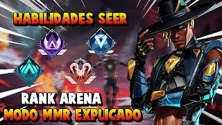 Habilidades SEER Nueva Leyenda y Todo Sobre Clasificatorias en Arena TEMPORADA 10 APEX LEGENDS