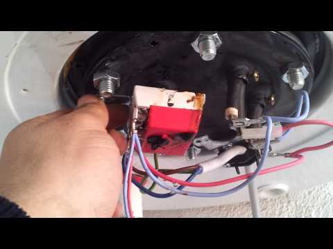 Como reparar fuga de agua de termo el ctrico edesa 100 - Precios de termos de gas ...