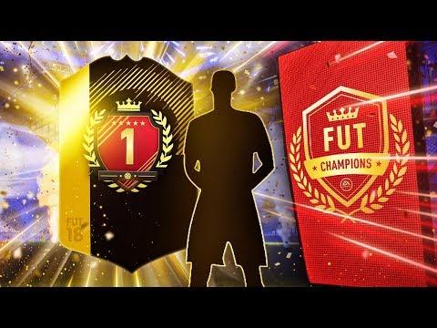 FUT CHAMPIONS NUMBER 1 REWARDS!! | ULTIMATE TOTW PACK!! | INFORM WALKOUT!! | FIFA 18 ULTIMATE TEAM