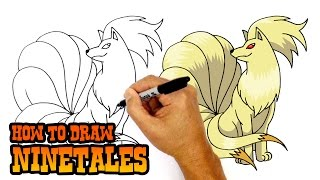 How to Draw Ninetales | Pokemon