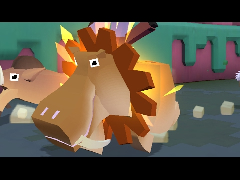 Rodeo Stampede Taming The Quot Sabretooth Hippo Quot Animal Of