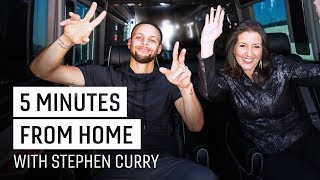 Stephen Curry & Oakland Mayor Schaaf Talk Town Bizness | 5 Minutes from Home