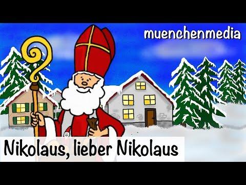 ⭐️  Nikolaus, lieber Nikolaus - Weihnachtslieder - Kinderlieder deutsch - muenchenmedia