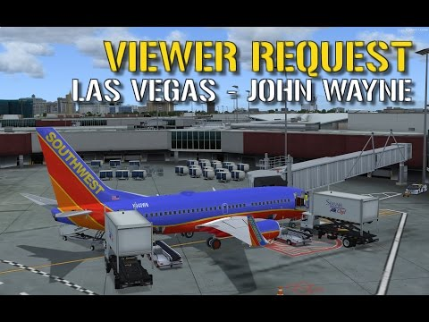 Prepar3D: Las Vegas - John Wayne | PMDG NGX | VATSIM ATC | Southwest Airlines