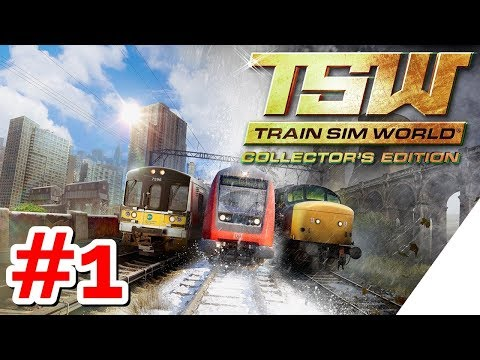 TRAIN SIM WORLD [PS4][German] Let's Play #1 BESTER ZUG SIMULATOR ?!