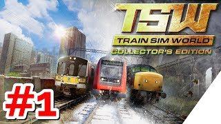 TRAIN SIM WORLD [PS4][German] Let's PĮay #1 BESTER ZUG SIMULATOR ?!