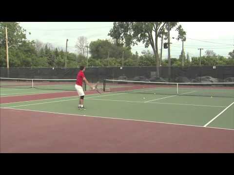 Stuart J. MacLeod (Canada) - Spring 2014 - College Tennis Recruiting Video
