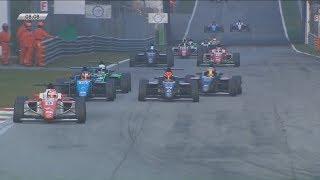 Italian Formula 4 Championship 2017. Race 3 Autodromo Nazionale Monza. Last Laps