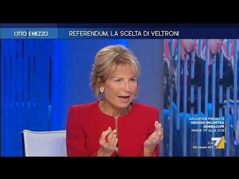 Otto e Mezzo la7 - Referendum, la scelta di Veltroni