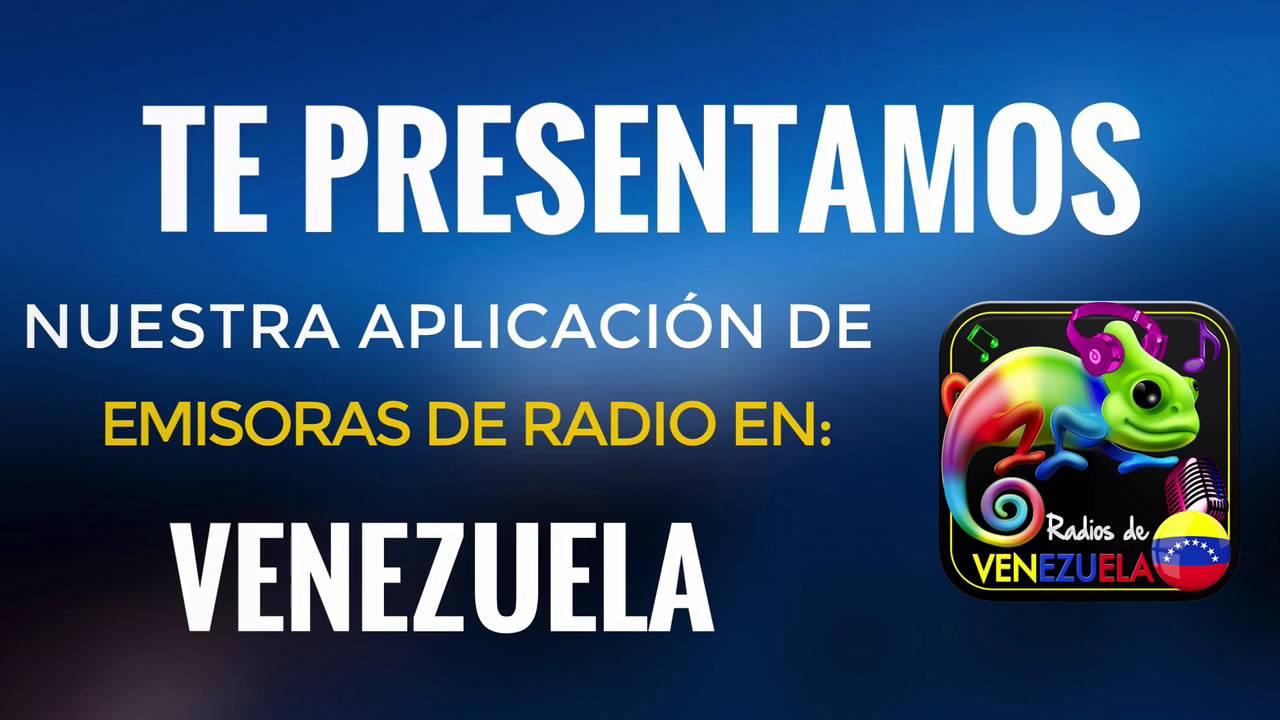 6c52f3707d36e Emisoras de Venezuela (Muy buena aplicación de Radios de Venezuela ...