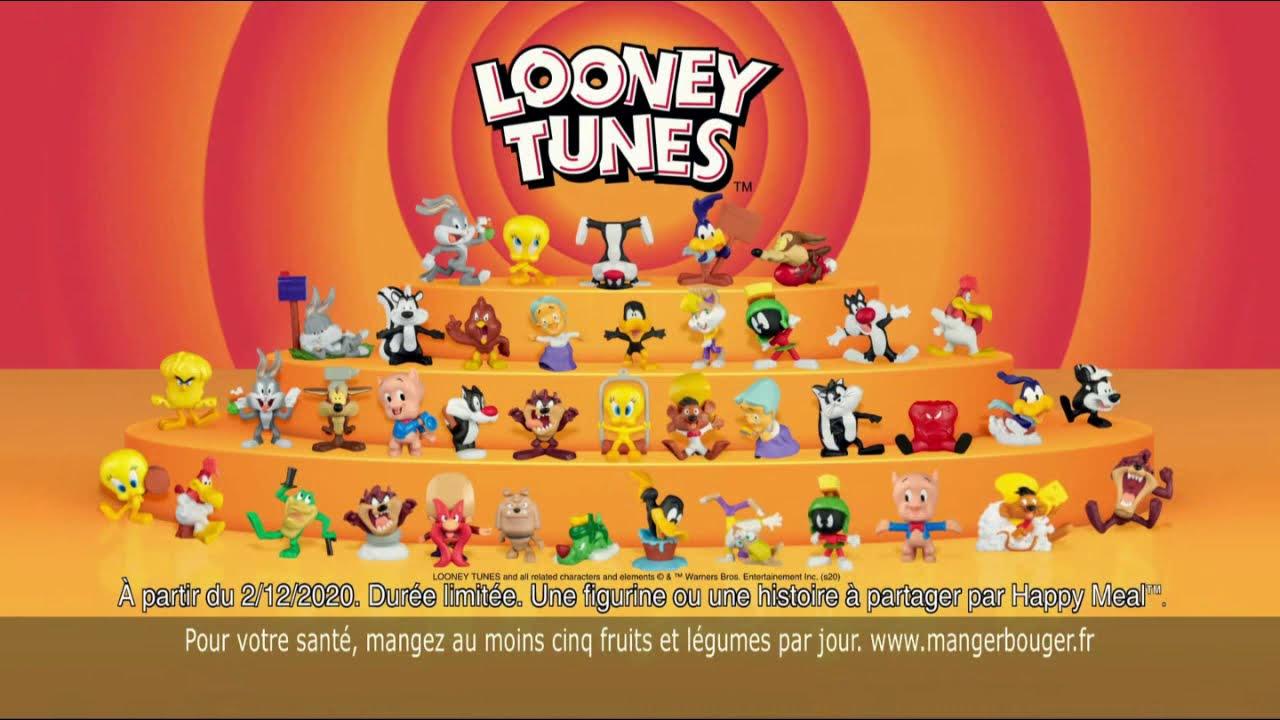 "Musique de la pub Happy Meal Mc Donald's ""Looney Tunes"" Pub 26s 2021"