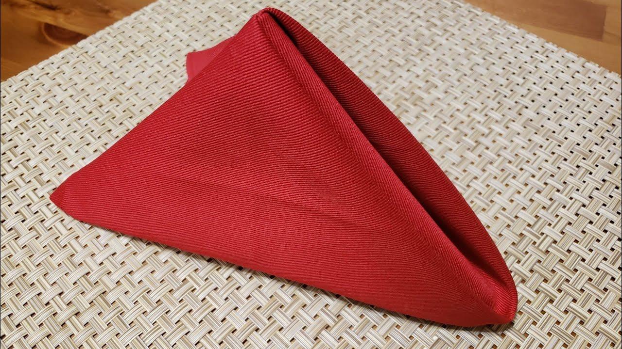 Napkin Folding  วิธีพับผ้าเช็ดปากแบบง่ายๆ   แม่บ้านบัลแกเรีย