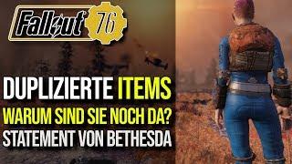 Duplizierte Items noch im Umlauf | Statement von Bethesda | Fallout 76