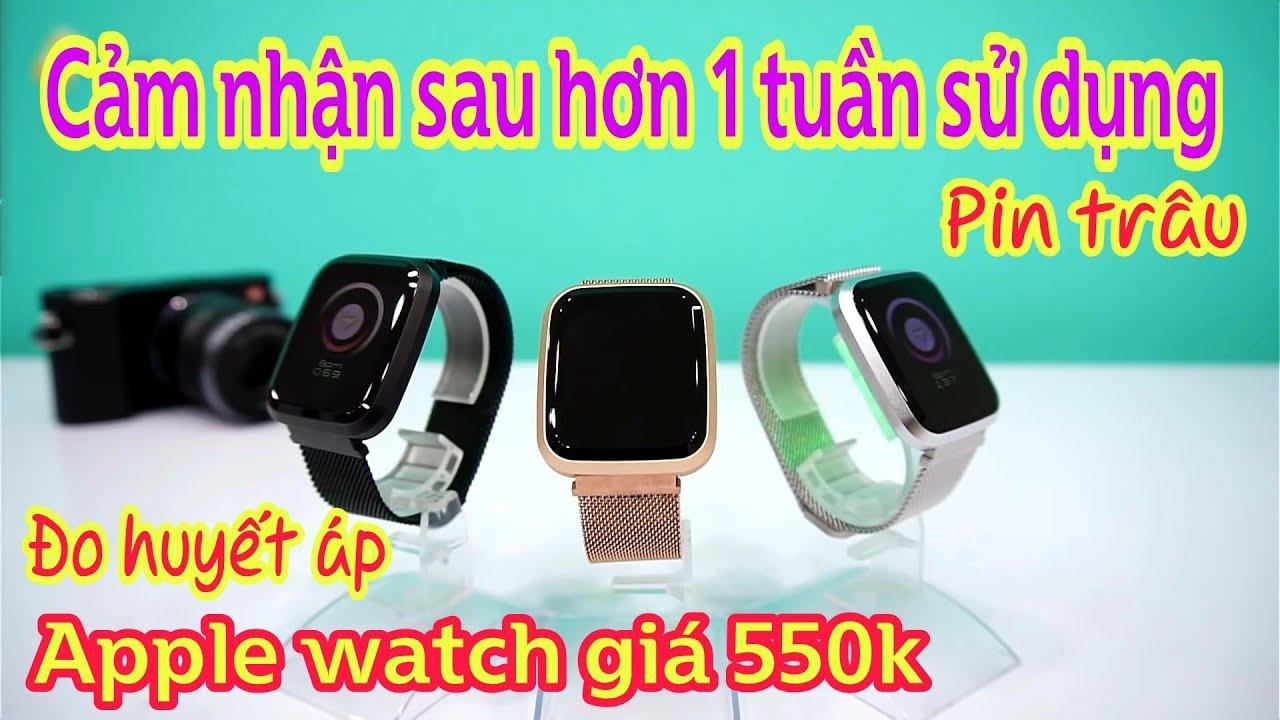 Đồng hồ thông minh Smart watch Fly1 tốt nhất trong tầm giá 550k