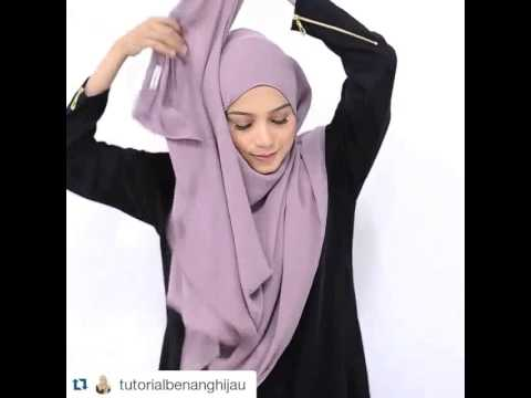 Tutorial Shawl Ala Elfira Loy Youtube