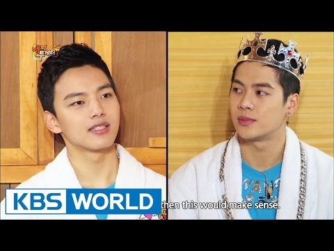 Happy Together - Yoo Ohseong, Yeo Jingoo, Jackson (GOT7) & more! (2015.02.12)
