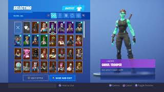 FREE STACK FORTNITE ACCOUNT GIVEAWAY RENEGADE RAIDER/ GHOUL TROOPER