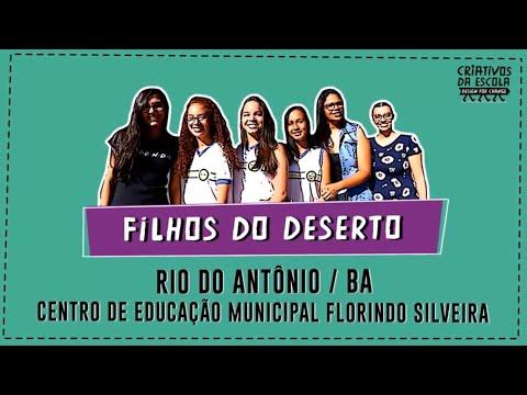 #Criativos2019 [Libras] Filhos do Deserto (Rio do Antônio - BA)
