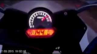 HONDA CBR 150 top speed 144