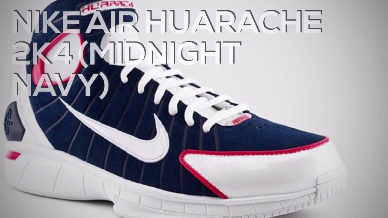 d3eec3c591ad NIKE AIR HUARACHE 2K4 (MIDNIGHT NAVY)  SNEAKERS T - YouTube