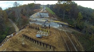Old Madison Pike Road Construction Overflight: 11 November 14
