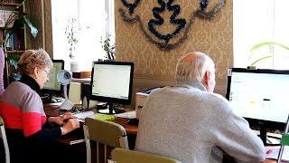 В Харькове проходят бесплатные компьютерные курсы для пенсионеров