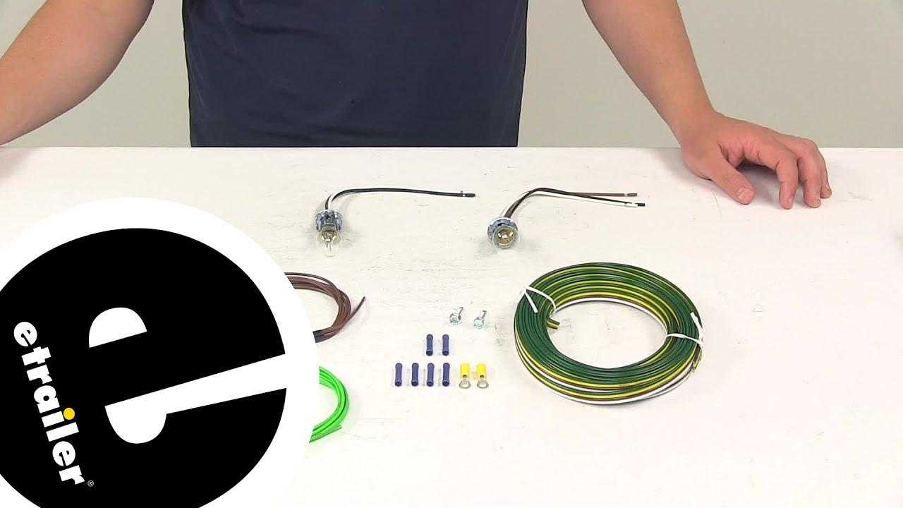 demo blue ox tow bar wiring bx8869 etrailer com youtube rh youtube com