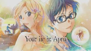 Your Lie In April Anime Medely By Amanda Lee And Dima Lancaster