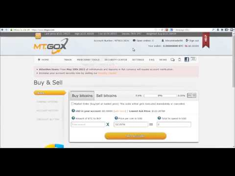 How To Create A Mt. Gox Bitcoin Trading Account