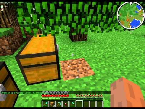 видео: Как открыть заприваченый сундук в minecraft