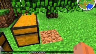 Как открыть заприваченый сундук в Minecraft