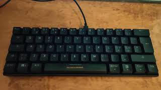Deltaco Gaming GAM-075 tastatur