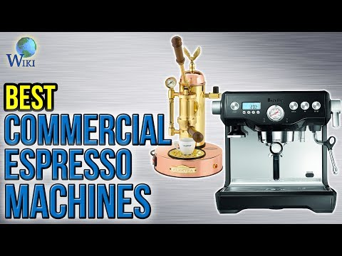 7 Best Commercial Espresso Machines 2017