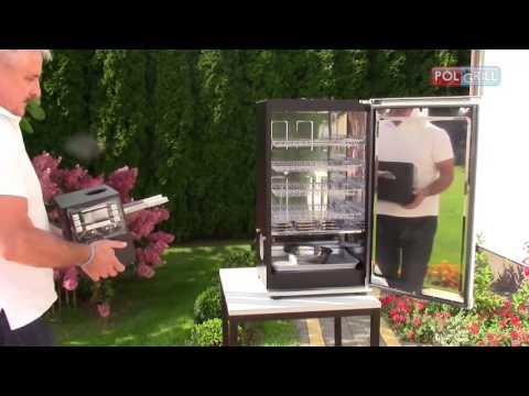 Montaż i wypalanie wędzarni domowej - Bradley Smoker